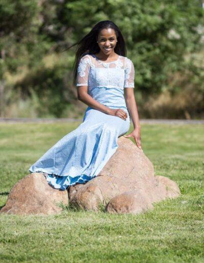 Dera Offokaja - Miss Nigeria